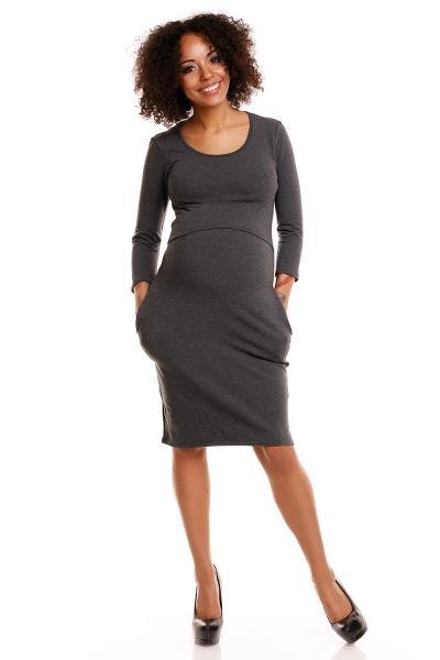 ae78d5c1f35 Pohodlné těhotenské šaty