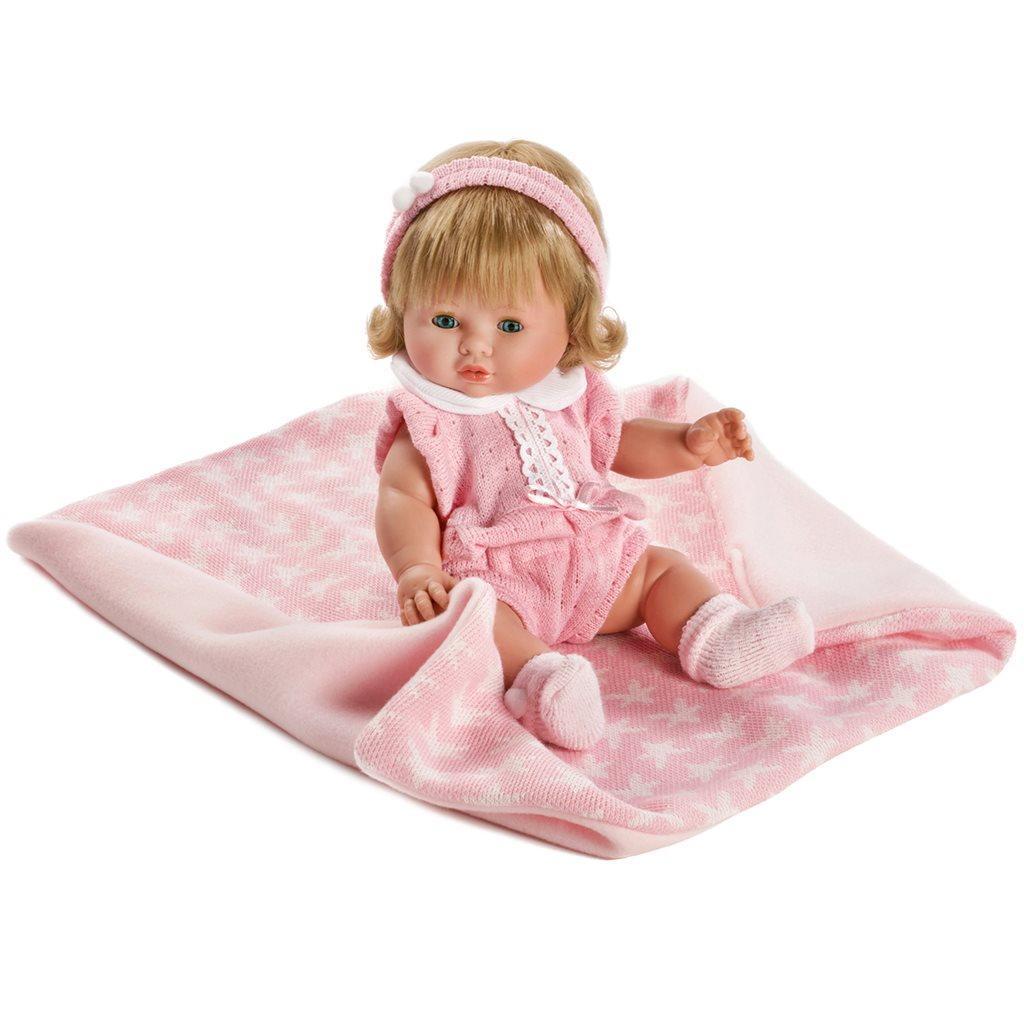 45bd51637fa Luxusní dětská panenka-miminko Berbesa Amalia 34cm