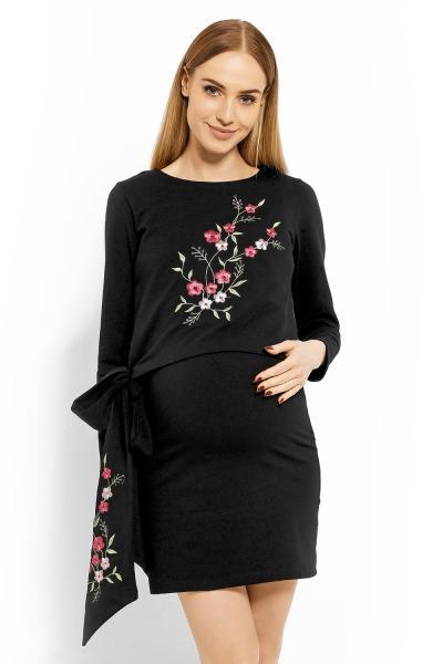 35477dfae0f4 Elegantní těhotenské šaty