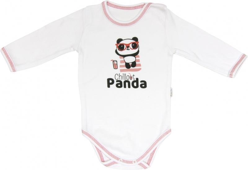 ad1d988b53aa Mamatti Kojenecké body Panda - dlouhý rukáv
