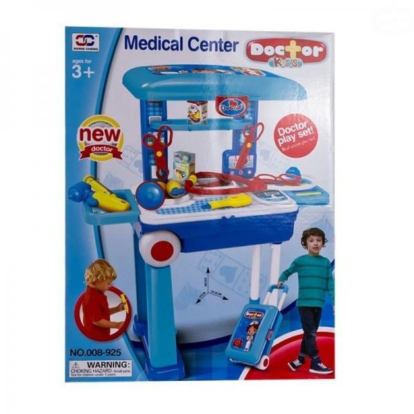 73eb9d14a20cd Euro Baby Dětský lékařský set v pojízdném kufříku