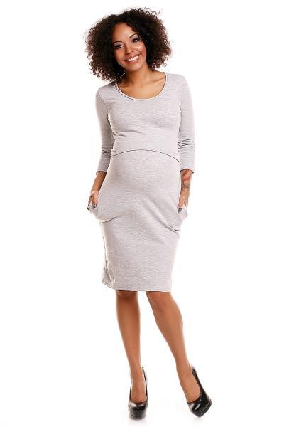 Pohodlné těhotenské šaty 9eccd7d267