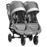 Kočárek Baby Jogger City Mini Gt Double 2018 Steel Gray + Doprava ZDARMA