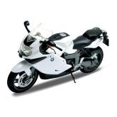 Welly - Motocykl BMW K1300S model 1:10 bílý