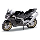 Welly - Motocykl Aprilia RSV1000R Factory model 1:18 šedá