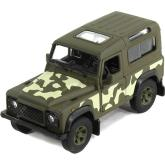 Welly  Land Rover Defender Armor Squad  model 1:34 zelený