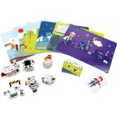 Small Foot Magnetické puzzle profese