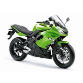 Welly - Motocykl Kawasaku Ninja 650R model 1:10 zelený