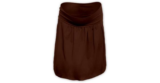 ea2c512270c6 Balónová sukně - hnědá