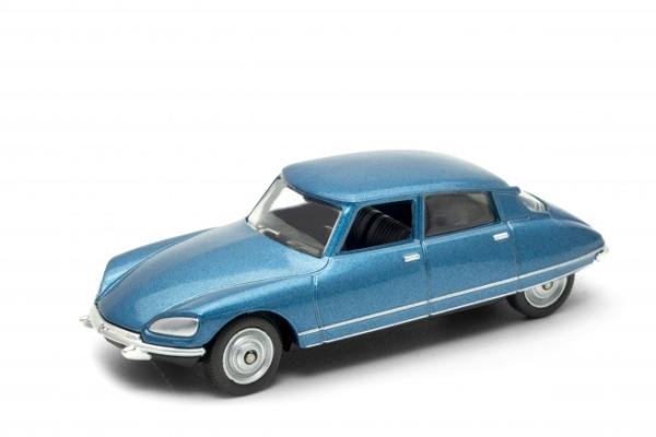 Welly Citroen DS23 (1973) model 1:34 zlatá