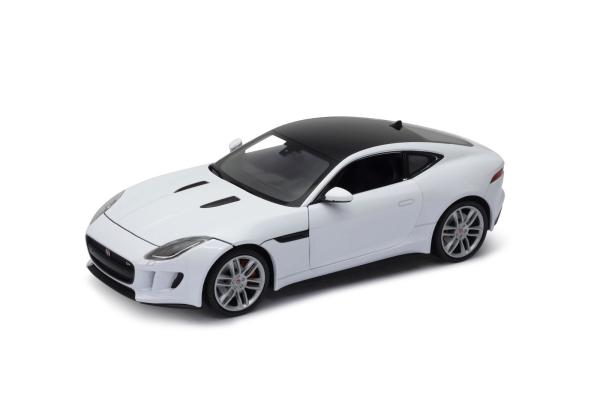 Welly - Jaguar F-Type Coupe model 1:24 white