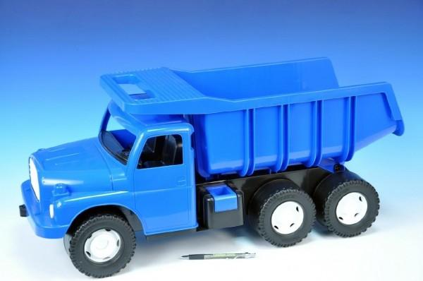 Auto Tatra 148 plast 73cm v krabici - modrá +
