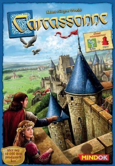 Mindok Rodinné deskové hry - Carcassonne: Základní hra